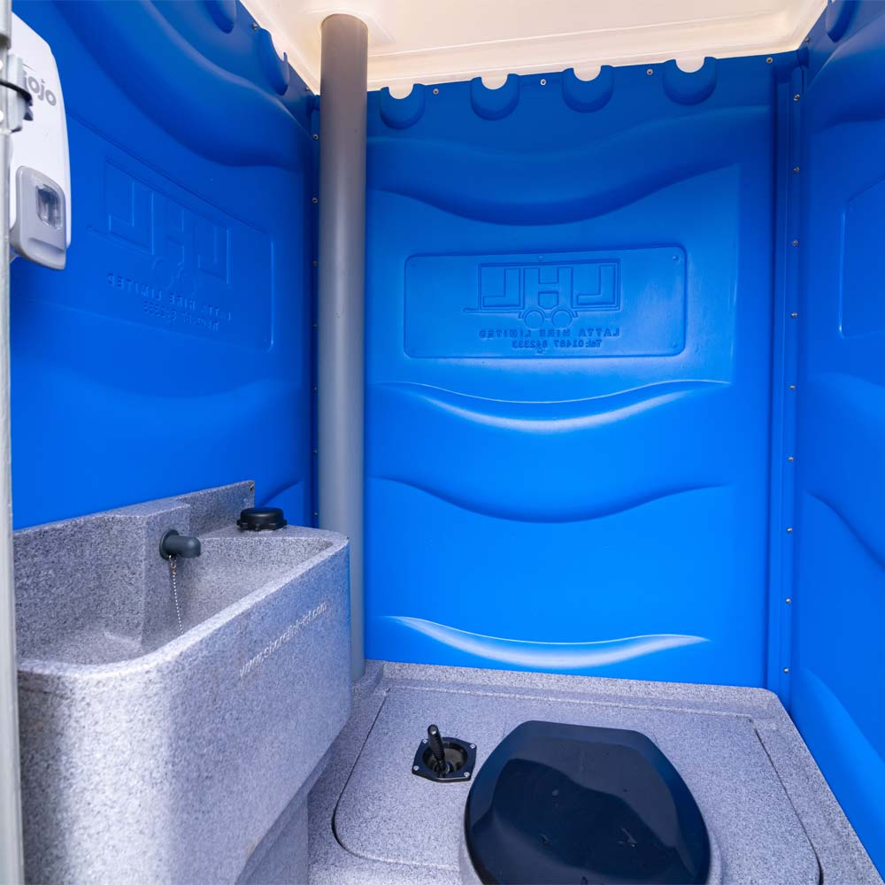 Building Site Toilet Interior